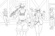 Numbtongue and Octavia