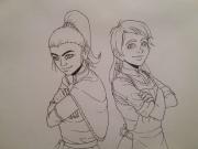 Ryoka and Erin