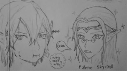 Falene by Chalyon