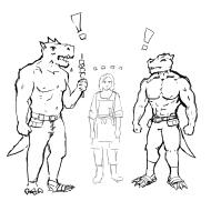 Relc Meets Grimalkin by mg