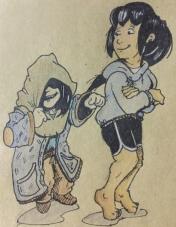 Ryoka and Fierre by Brack