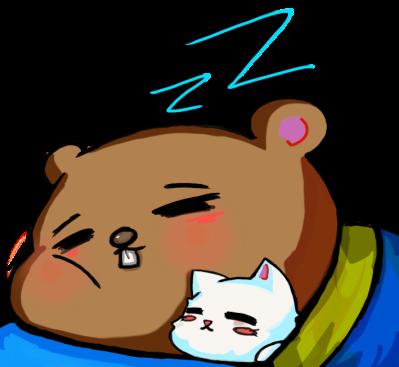 Beaver Nap by Plushie