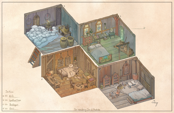 Inn Rooms by Enuryn