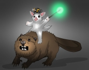Beaver Ride by Mg