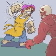 Erin vs Titan by Brack