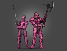 Knights by Mg