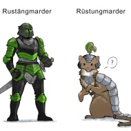 Rustaengmarder by ArtsyNada