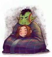 Snuggly by ArtsyNada