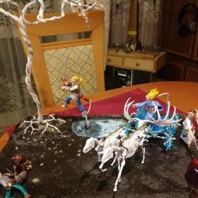 Horns Battle by Momo